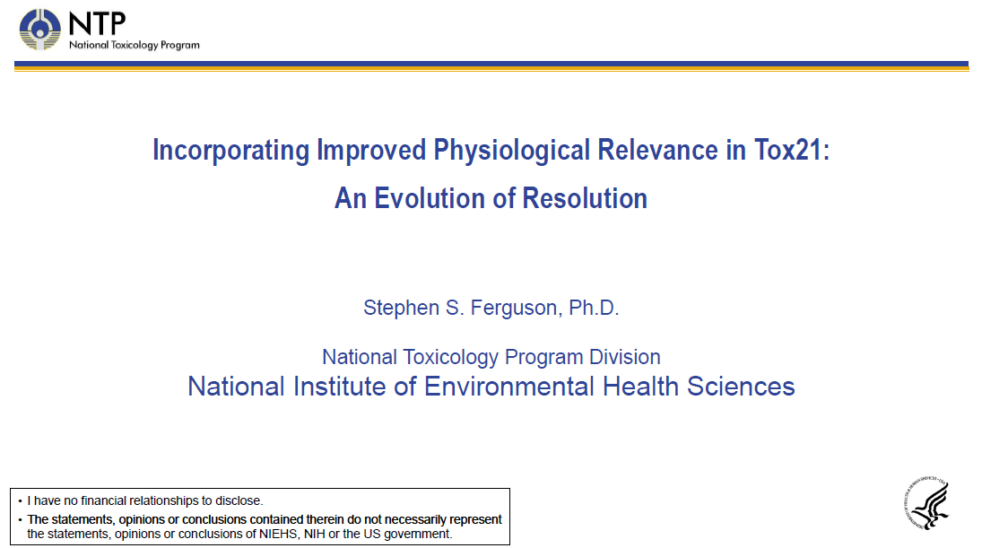 Dr Ferguson NTP presentation first page