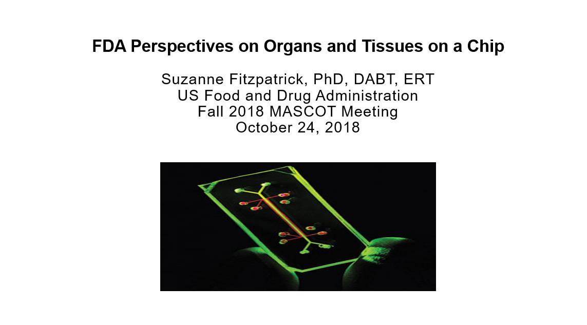 Presentation first page FDA Suzanne Fitzpatrick